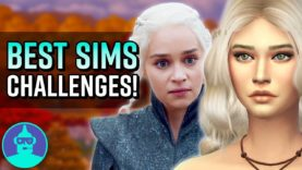 5 SIMS Challenges YOU HAVE TO TRY!!! (Game of Thrones, Disney, Walking Dead))