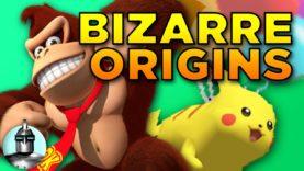6 Bizarre Video Games Origins | The Leaderboard