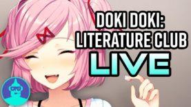 Doki Doki Literature Club Lets Play! Live | The Leaderboard