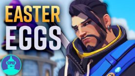 Overwatch Easter Eggs YOU Missed – NEW MAPS- Lunar New Year 2018 – Easter Eggs #12 | The Leaderboard