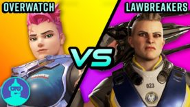Overwatch vs Lawbreakers – Not A Ripoff?? ?| The Leaderboard