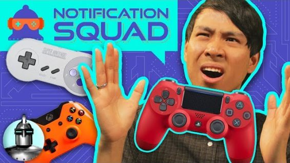 Which Video Game Controller is better? 🤔 (PS4, Xbox, Switch, GameCube) | Notification Squad S1 E4