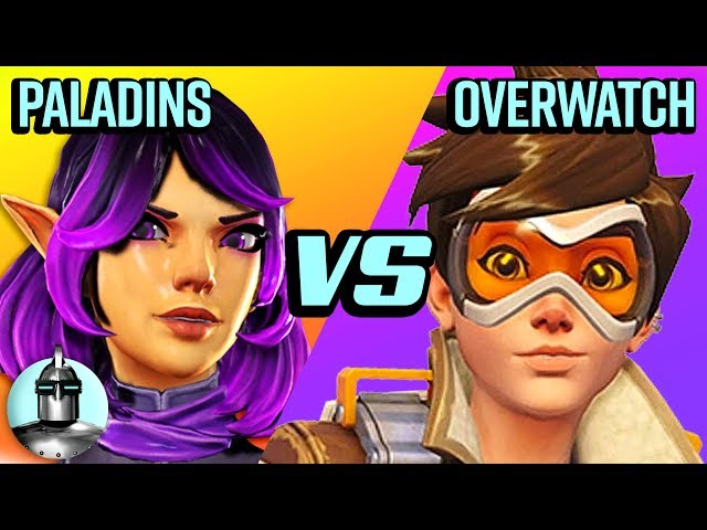 Overwatch Vs. Paladins 😱 - Which is better?!?🤔 | The Leaderboard - The Leaderboard