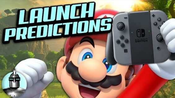 Nintendo's Switch Launch Games and Predictions! | The Leaderboard
