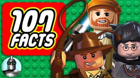 107 LEGO Videogame Facts YOU Should Know | The Leaderboard