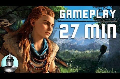 Horizon Zero Dawn 27 MINS. OF GAMEPLAY  | The Leaderboard