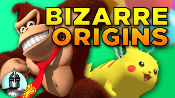 6 Bizarre Video Games Origins | The Leaderboard