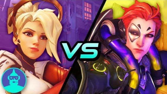Moira vs Mercy: A Deep Dive Into Lore & Mechanics | The Leaderboard