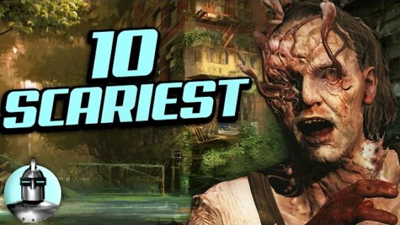 Top 10 SCARIEST Moments In Video Games!!   The Leaderboard