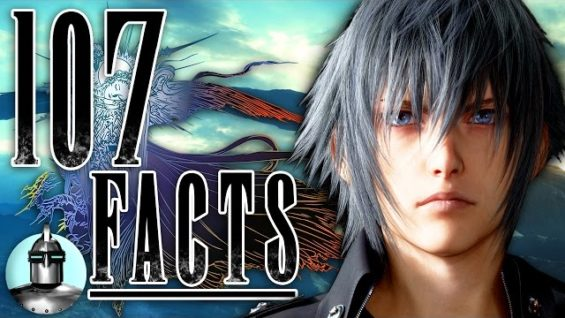 107 Final Fantasy XV Facts YOU Should KNOW | The Leaderboard