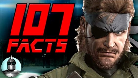 107 Metal Gear Solid Facts YOU Should Know! | The Leaderboard