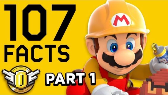 107 Facts About Mario Maker YOU Should KNOW! PART 1 | The Leaderboard