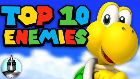 Top 10 Super Mario Enemies (Part 1) by Super Coin Crew | The Leaderboard