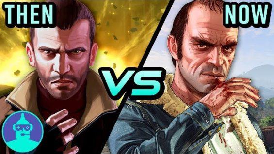 GTA IV vs GTA V – Then Vs Now! | The Leaderboard