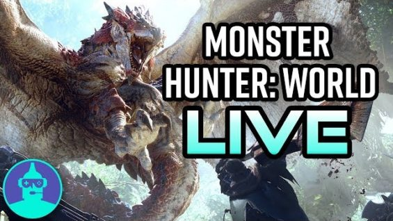 Monster Hunter: World Gameplay | The Leaderboard LIVE