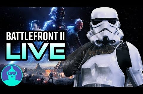Star Wars Battlefront 2 – Let's Play | The Leaderboard LIVE