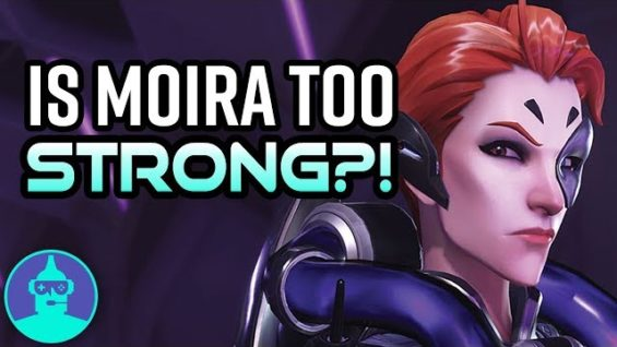 Overwatch – Is Moira Overpowered?? + The Triple Support Team Comp (Moira, Ana, Lucio)