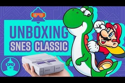 SNES Classic Unboxing!!!  | The Leaderboard