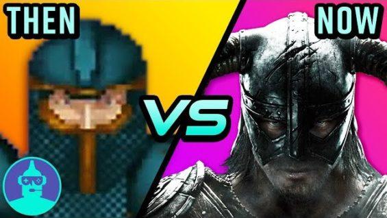 The EVOLUTION of The Elder Scrolls – Then vs Now – Morrowind, Oblivion & Skyrim | The Leaderboard