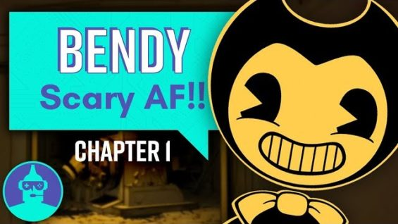 Bendy and the Ink Machine – Let's Play – Chapter 1 of 3 | The Leaderboard