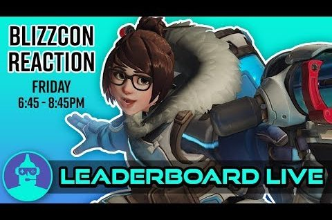 Overwatch – Blizzcon Live Reaction (Moira Review, Blizzard World, +MORE ) | The Leaderboard