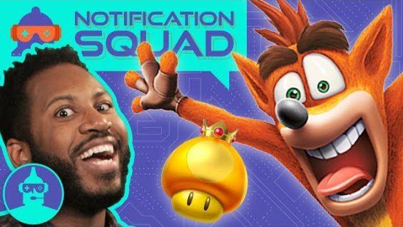 What's YOUR Favorite Childhood Video Game? (Crash, Mario Kart, Batman?) | Notification Squad S1 E7