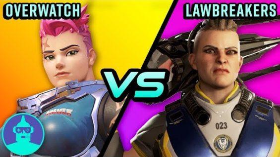 Overwatch vs Lawbreakers – Not A Ripoff?? ?| The Leaderboard