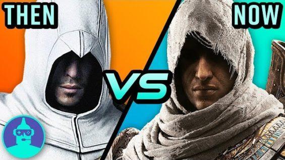 Assassin's Creed – Then vs. Now (Origins VS. The Original) | The Leaderboard