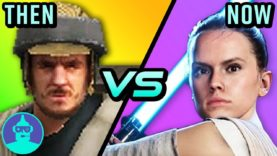 Star Wars Battlefront 2 – Then vs. Now (2005 vs. 2017) | The Leaderboard