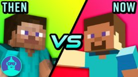 The Evolution of Minecraft – Then vs Now | The Leaderboard
