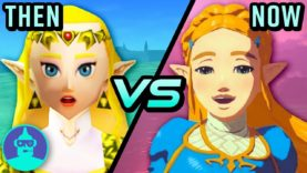 The Legend Of Zelda Breath Of The Wild Vs Ocarina Of Time – Then Vs Now | The Leaderboard