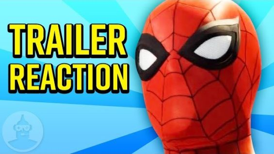 New Spiderman Trailer Reaction Plus Release Date!    The Leaderboard