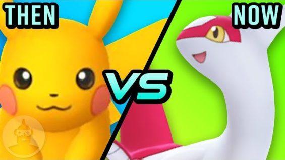 Pokemon Go – Then Vs Now – The Evolution Of Pokemon Go   The Leaderboard