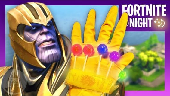 Fortnite Thanos The Leaderboard