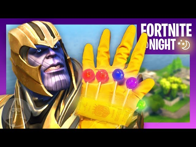 thanos analysis fortnite infinity gauntlet game mode fortnite night ep 6 the leaderboard the leaderboard - thanos fortnite thumbnail