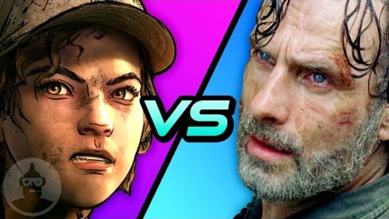 The Walking Dead Game vs. AMC's The Walking Dead – Which Is Better???    The Leaderboard