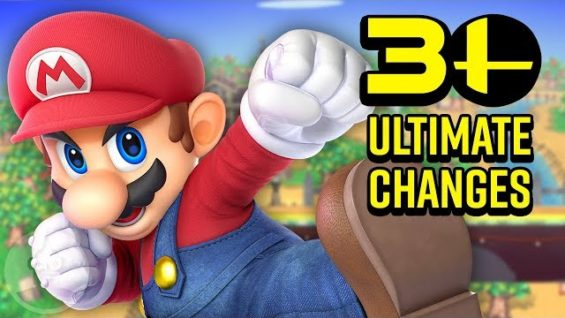30 Ultimate Changes in Smash Bros. Ultimate! | The Leaderboard
