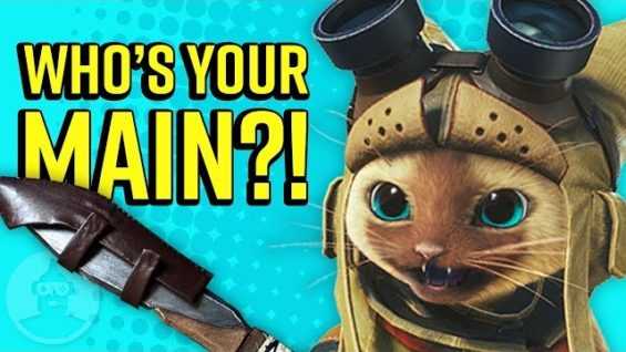 What Your Monster Hunter Weapon Says About You! | The Leaderboard