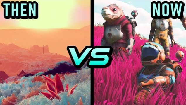 No Man's Sky – Then Vs Now – Evolution Of No Man's Sky | The Leaderboard