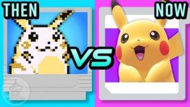 Pokémon Then Vs. Now – The Evolution of Pokémon Games | The Leaderboard
