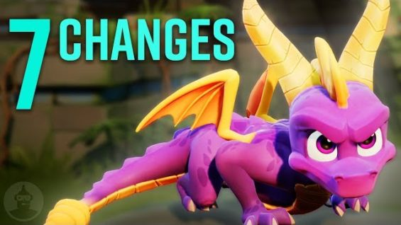 7 Spyro Reignited Remastered Changes YOU Should Know | The Leaderboard