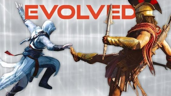 Evolution of Assassin's Creed Combat (From AC1 to Odyssey) | The Leaderboard