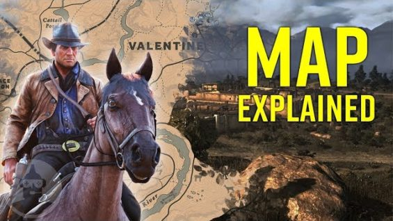 Red Dead Redemption 2 Map & Lore Explained! | The Leaderboard
