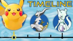 The Complete Pokemon Timeline: Where Does Lets Go Eevee & Pikachu Fit? | The Leaderboard
